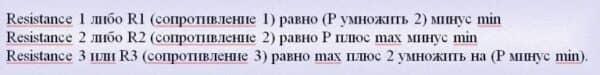 Формула Pivot Points