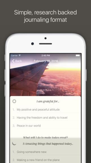 Журнал успеха для Iphone
